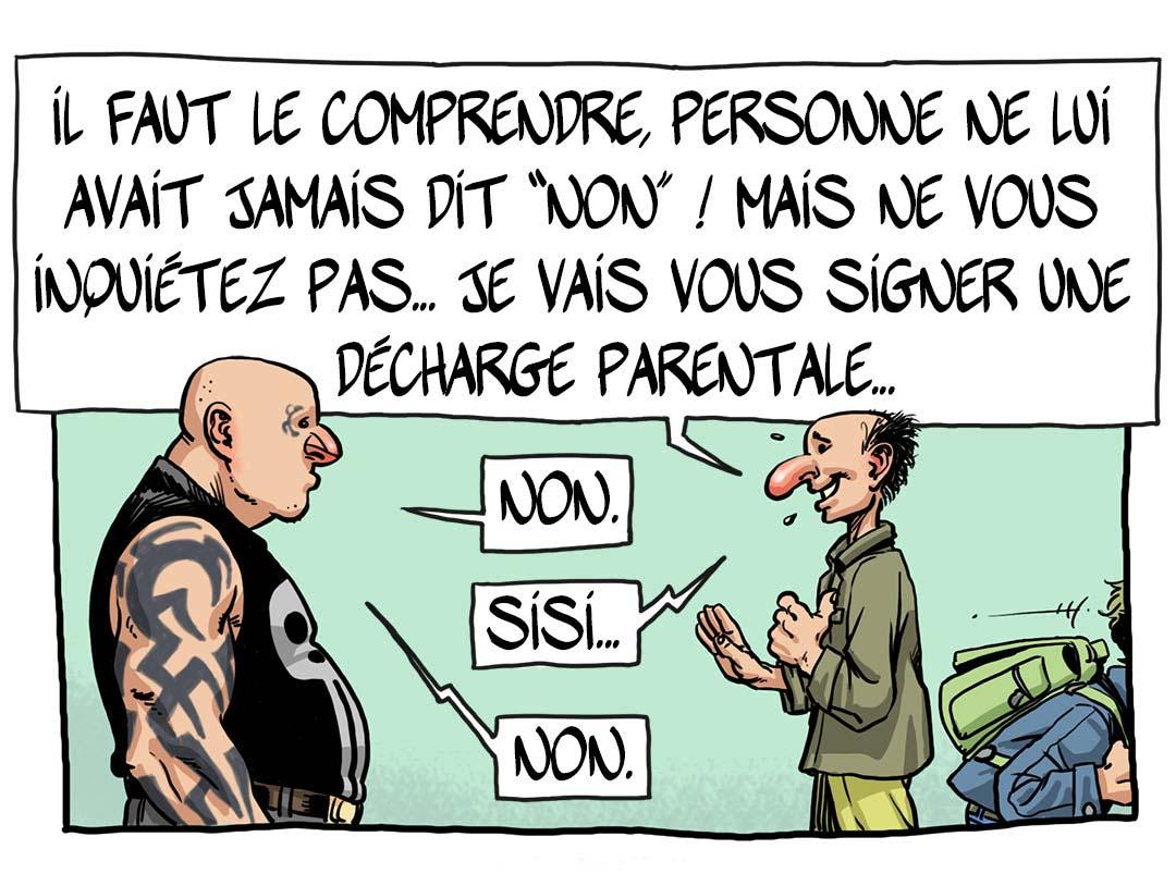 Le tatouage des mineurs ! - Extrait du livre - 2/3