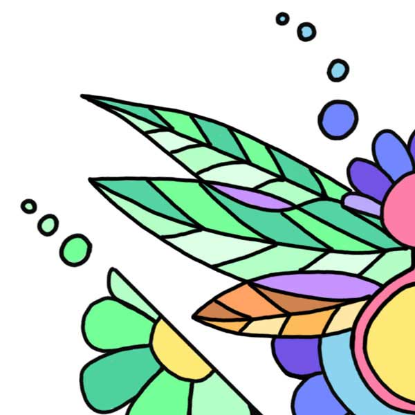 Fleur dessin