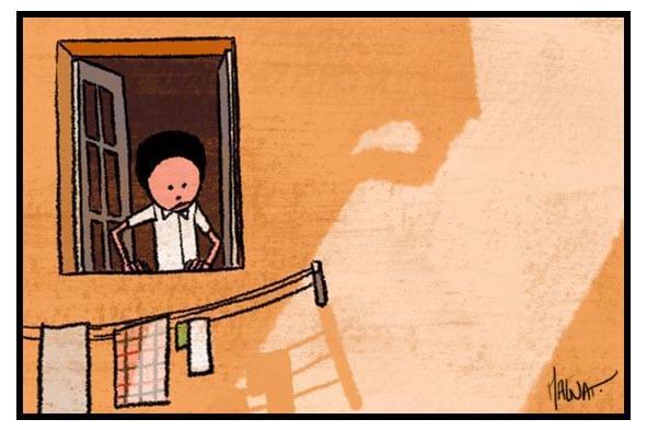 enfant fenêtre